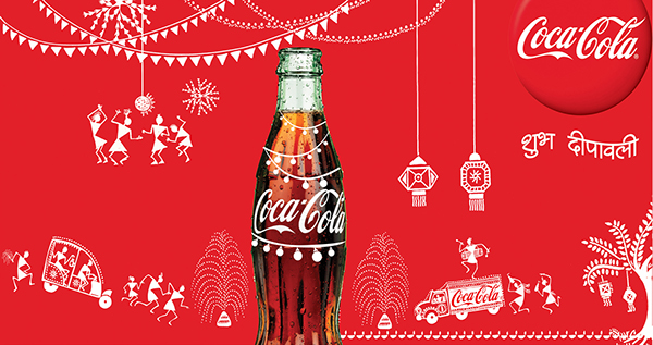 Image result for coca cola come home on diwali