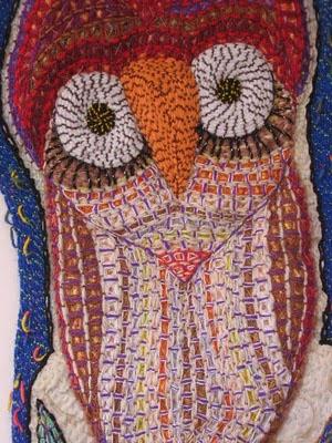 Costa Rica central america handmade crafts TAFA galeria octagono Silvia Piza-Tandlich workshops community crafts Embroidery installations exhibits latino