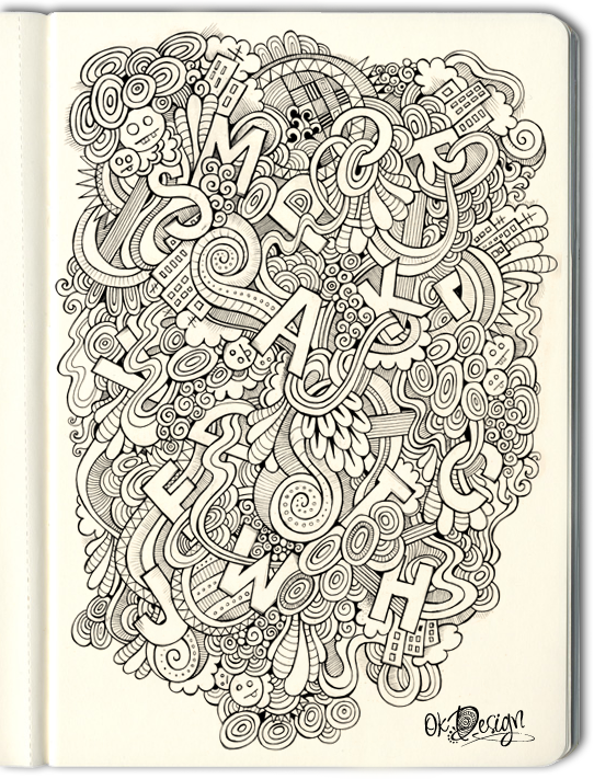 Hand drawn doodle letters on behance thecheapjerseys Choice Image