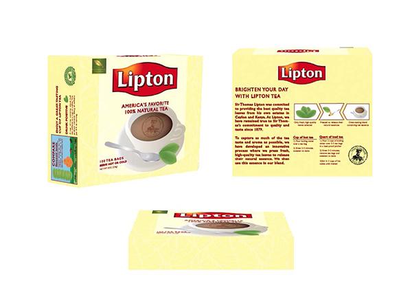 Lipton Tea Package Redesign On Behance