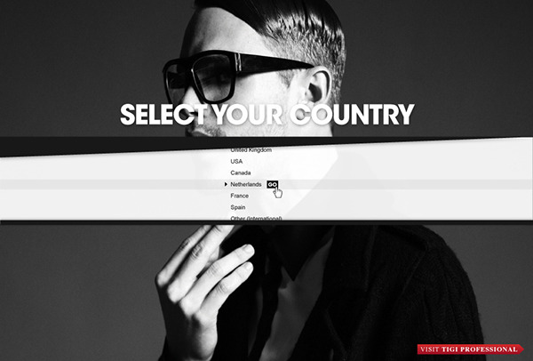 TIGI BED HEAD Online Community Dutch design fashion blogging Rodger Werkhoven style platform data cloud Mark&Rodg