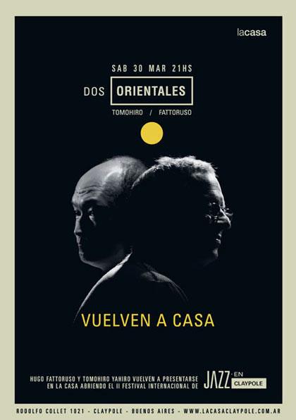 poster posters claypole jazz fest festival no square fattoruso cedric hanriot argentina International concert identidad jazz music