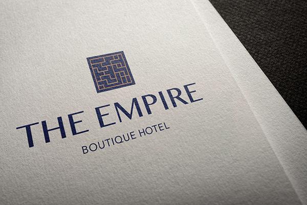 Brand identity boutique hotel