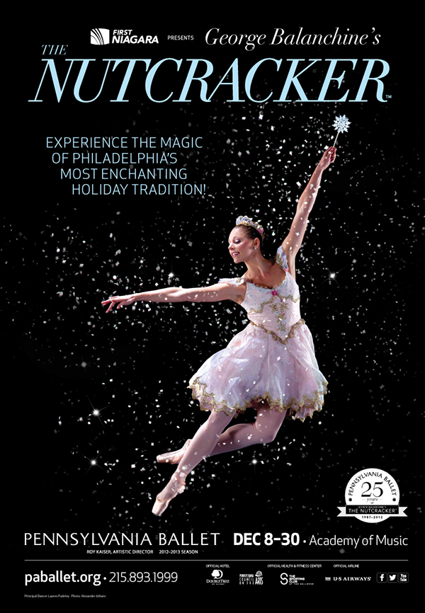 The Nutcracker - Pennsylvania Ballet (ad campaign) on Behance