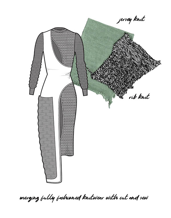 Knitwear Design for Gerber Ideation 2016 Competition on SCAD