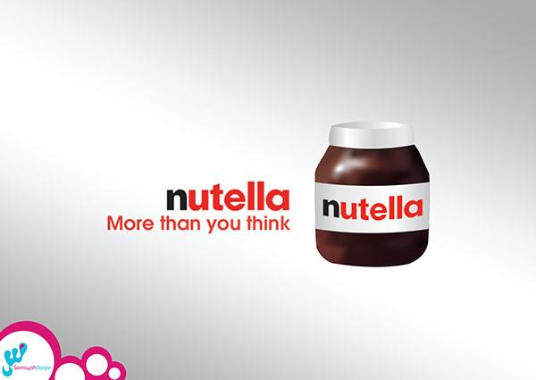 nutella advertising on behance