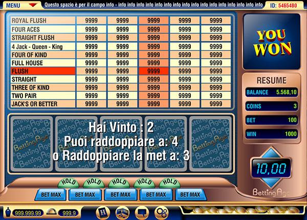 Poker face game online