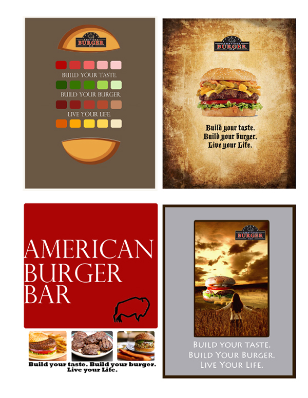 The American Burger Bar- part I on Behance