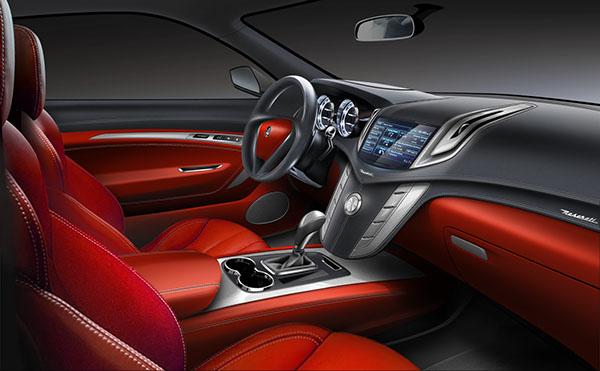 Maserati SUV Interior On Behance
