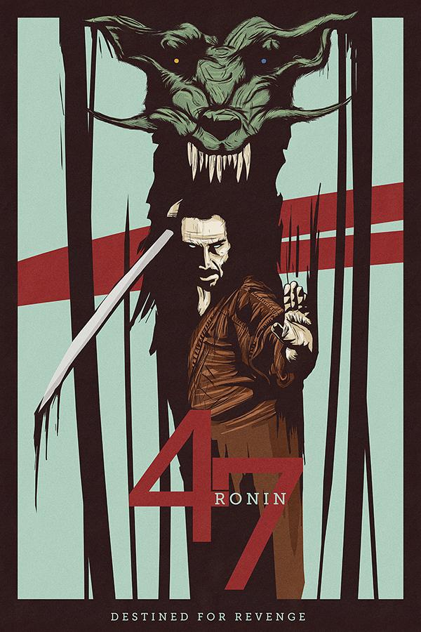 Poster Posse 4 - 47 Ronin on Behance