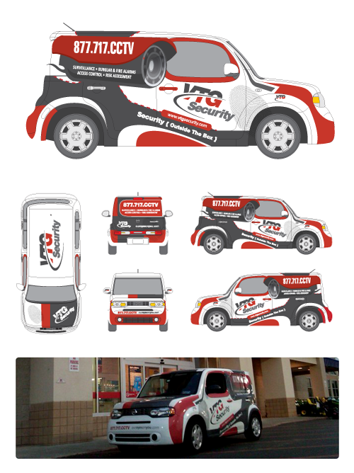 truck wrap templates - vehicle wrap design on behance