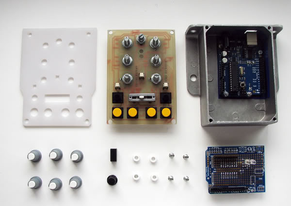 Arduino midi controller on behance
