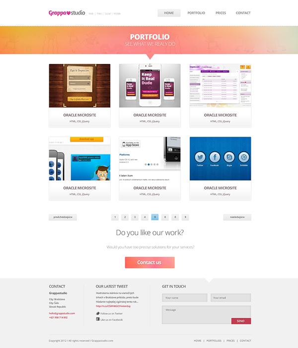 Webdesign company digital advertsigin mydesign   clean style