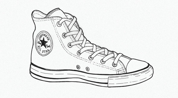 5b28ef9de95f How to draw a converse shoe - Active Coupons