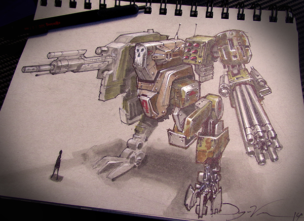 sketchbook sketches conceptart Concept Sketches concept artwork spaceships robots