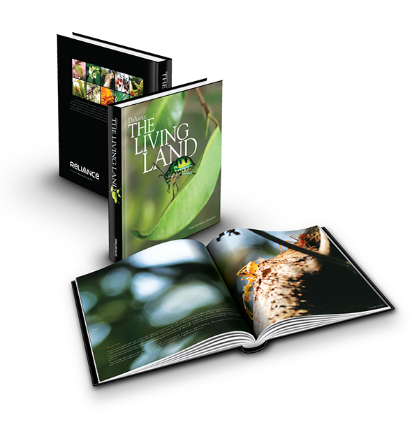 The Living Land, a coffee table book for Reliance on Behance