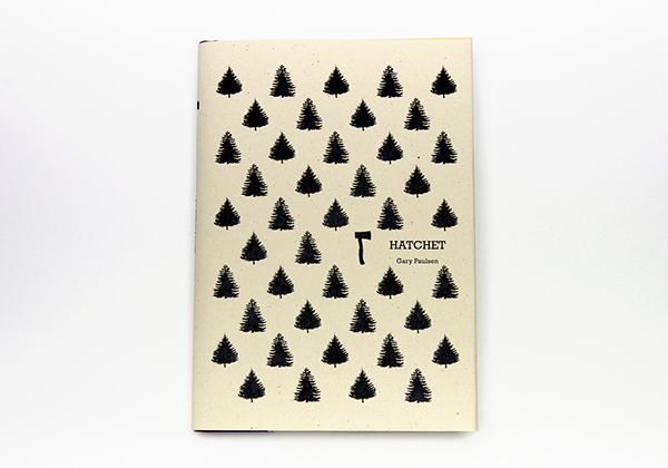 Hatchet Book Cover Ideas : Book cover hatchet on behance