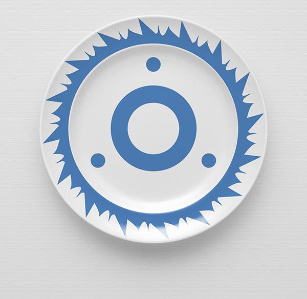 crockery tableware houseware plate china blue cornishware