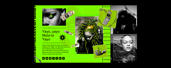Rihanna Poster Design
