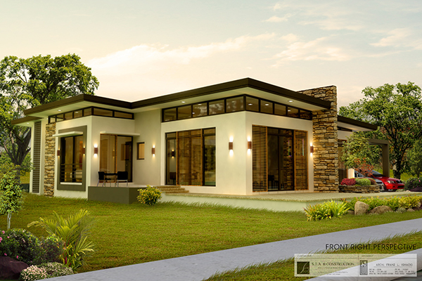 Bungalow House Plans With Photos Philippines Philippine Bungalow House