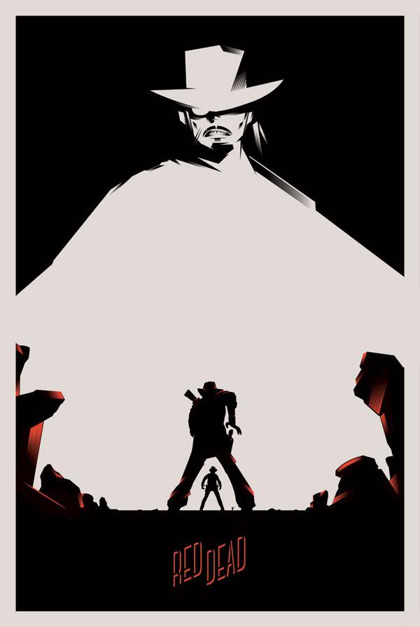 western sergio leone poster affiche movie poster dark west Exhibition  cowboy gallery sakura