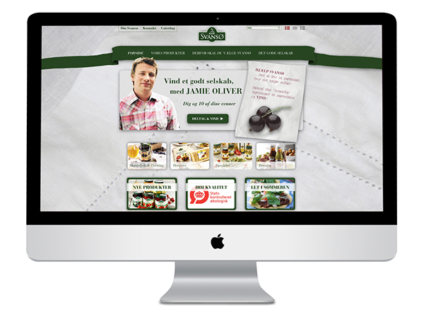 Website design Interface product Food