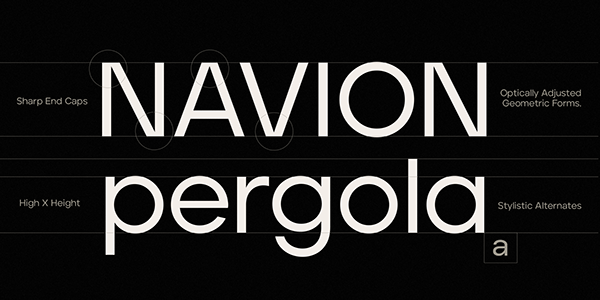 Aventa Variable Typeface