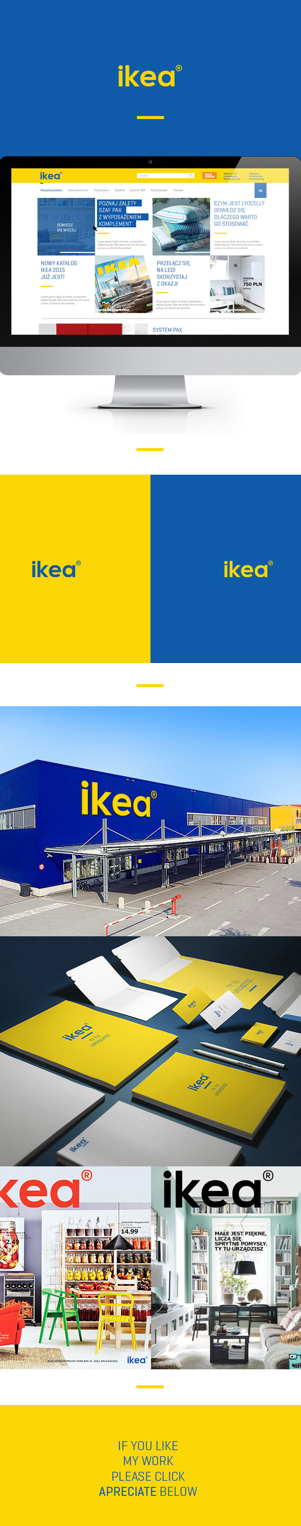 Ikea redesign concept on behance for Concept ikea