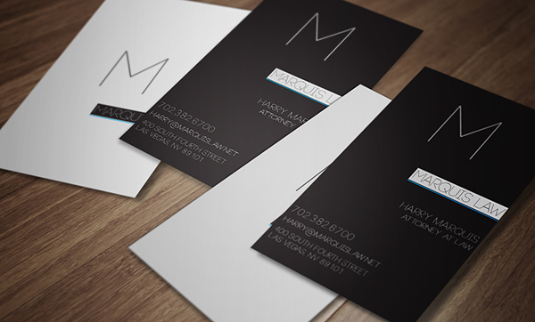 Law Firm Business Cards on Behance
