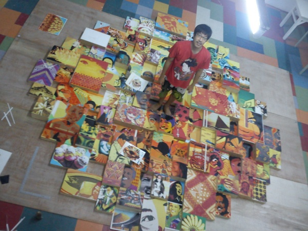 philippine smile net group net lima jose gamboa pinoy artista philippinesmile rufino   BGC Fort Bonifacio  filipino art artph philippine smile art