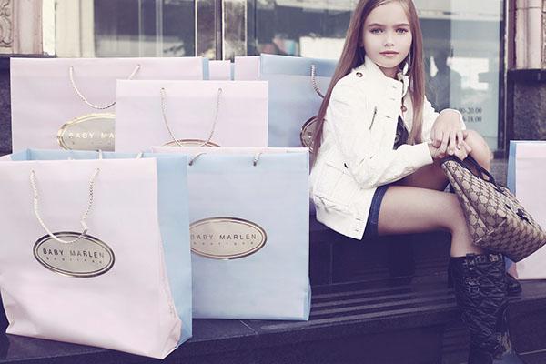 Internet shop luxury clothing for children on Behance
