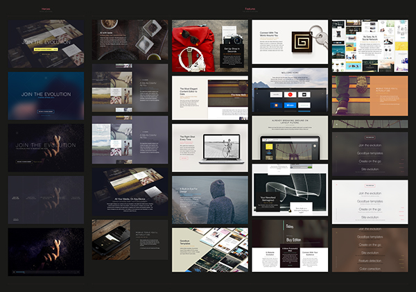 the grid Website free download psd open source ai site UI ux framework design guideline styleguide