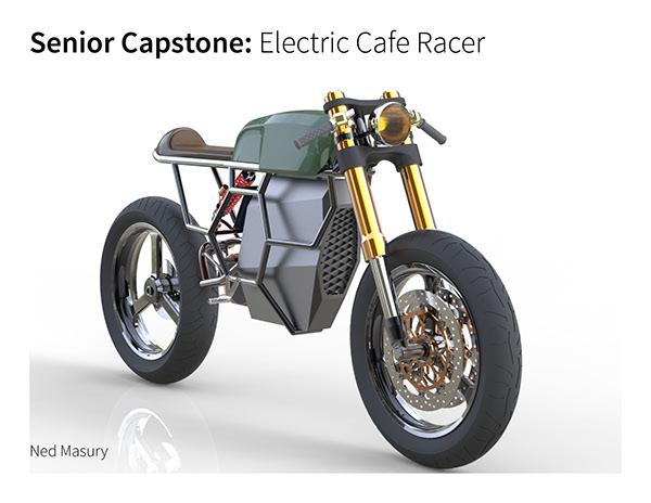 Electric Cafe Racer On RIT Portfolios