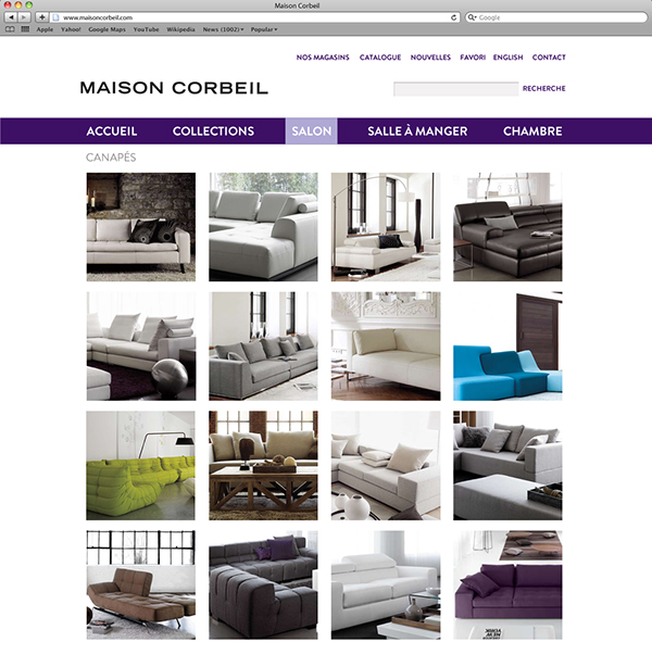 Maison corbeil on behance for Maison corbeil chaise bercante
