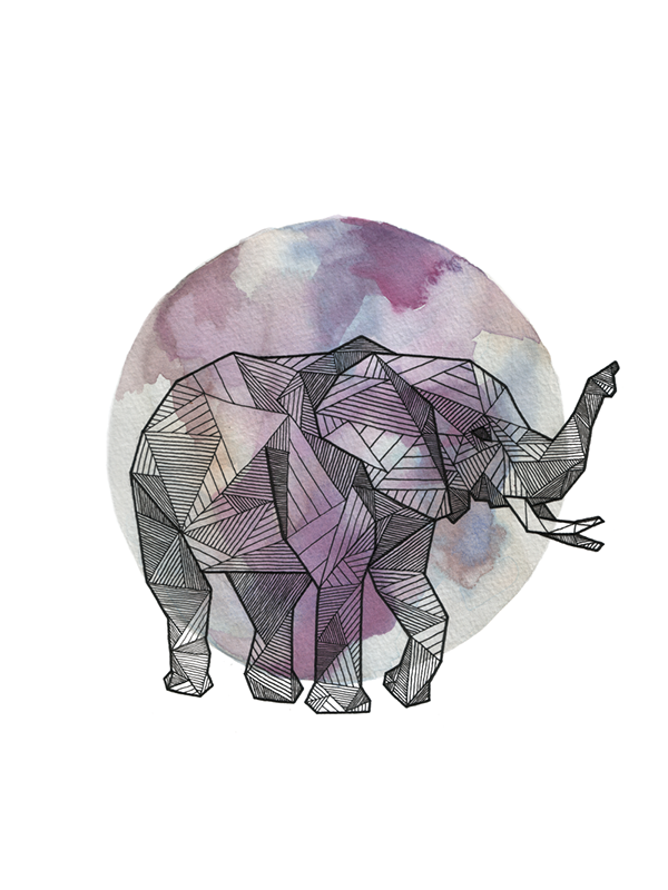 Geometric Line Art Animals : Geometric animals on behance
