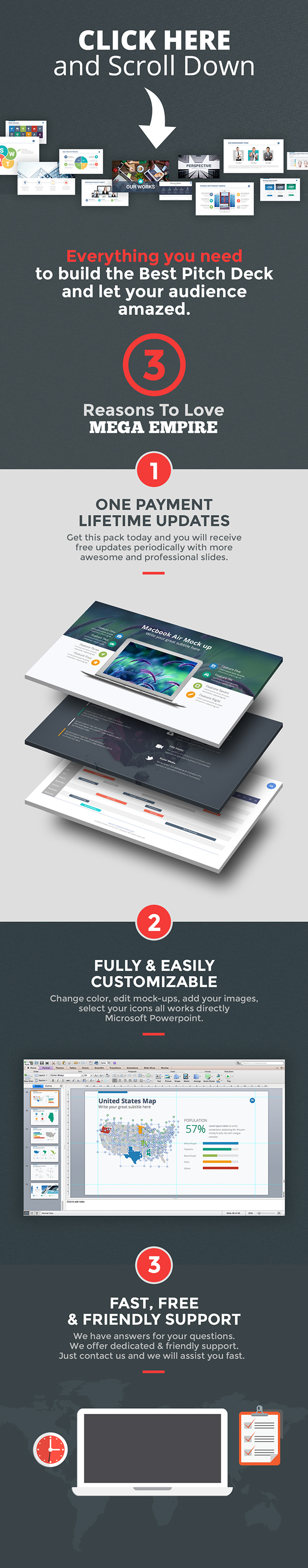 MEGA EMPIRE Powerpoint Template Bundle on Behance