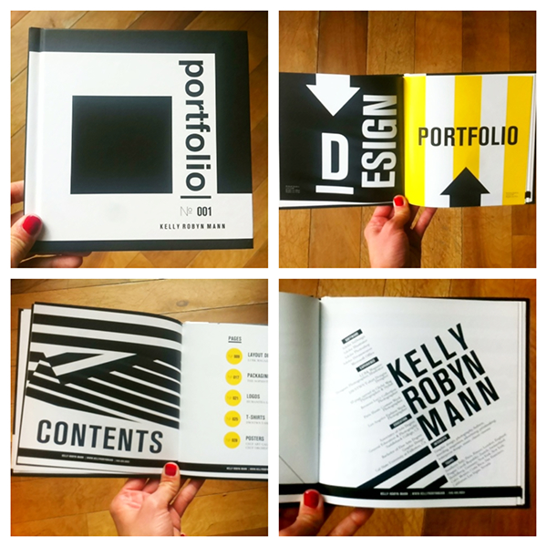 Printed Portfolio Examples: PORTFOLIO BOOK On Behance