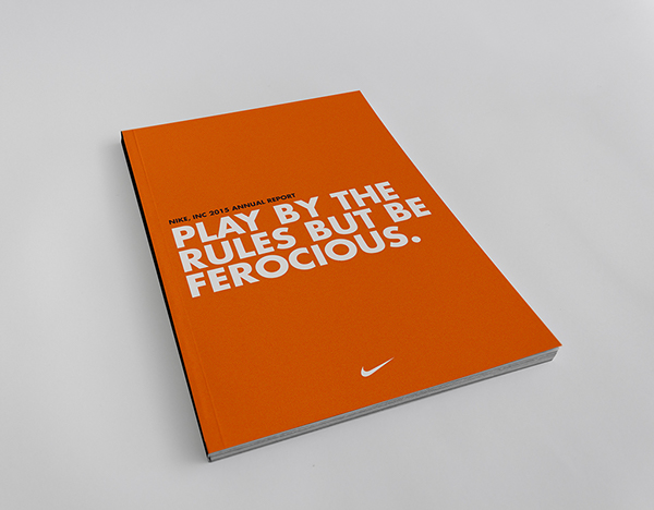 nike annual report Get the latest news from ecco find our annual reports, media contacts and download images from the image library.