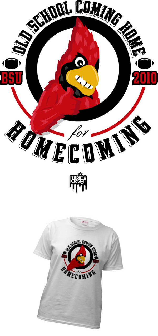 homecoming t shirt design on behance