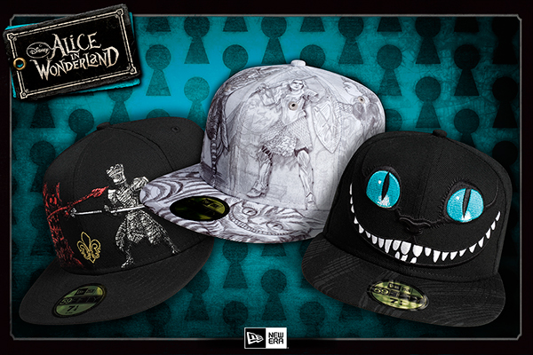 ed7a0118dc8 ALICE IN WONDERLAND CAP COLLECTION on Behance