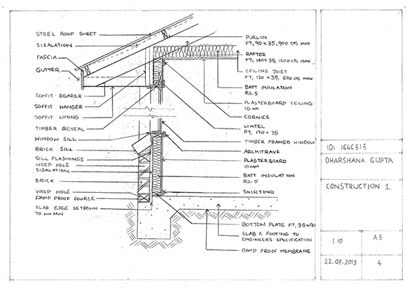 CONSTRUCTION DRAWINGS on Behance