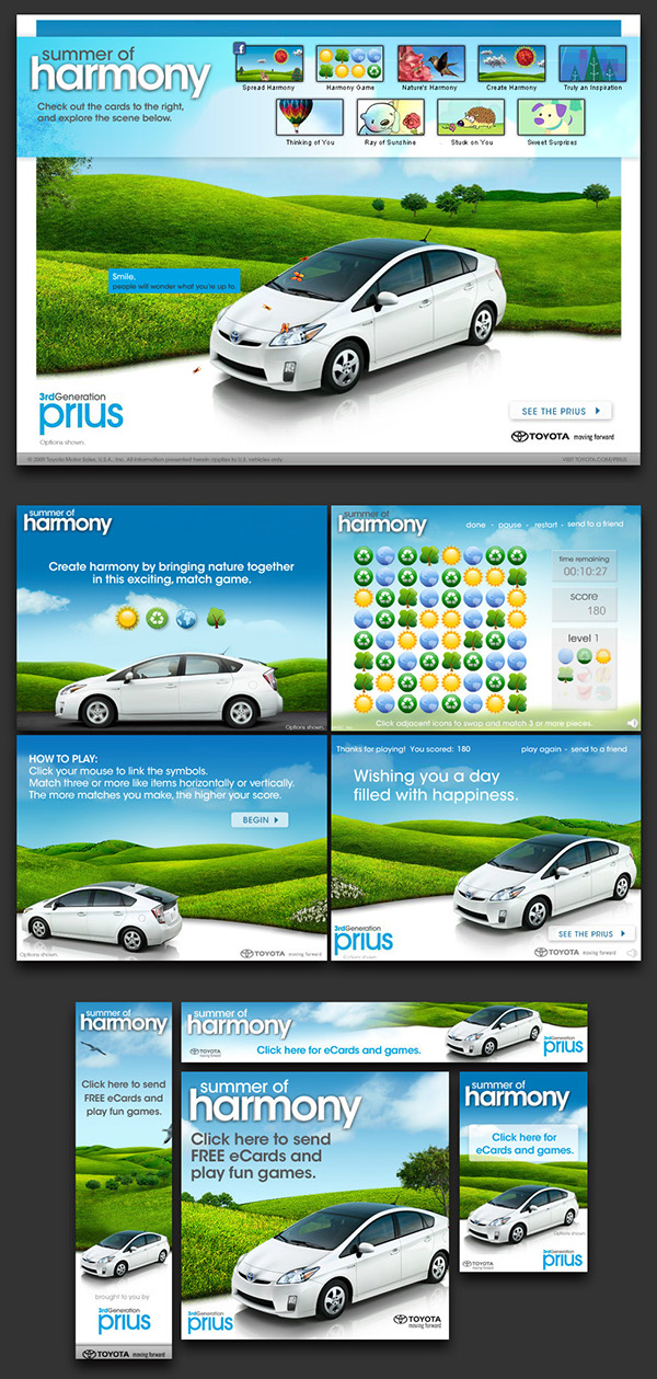 interactive  automotive  advertising   user interface  user experience