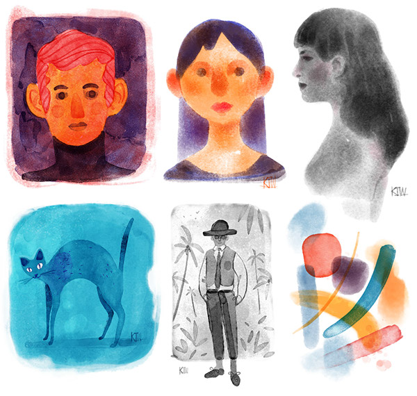 REAL Watercolor Brushes for Photoshop! on Behance