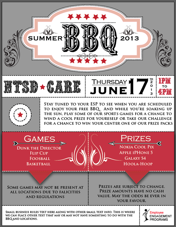 Snap Bbq Cookout Flyer Template On Behance Photos On Pinterest