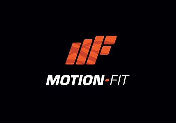 logo exercise  Fitness motion Dynamic
