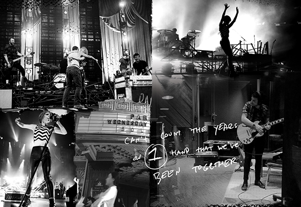 Paramore 2014 Tour Book on Behance