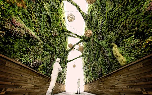street design green green architecture