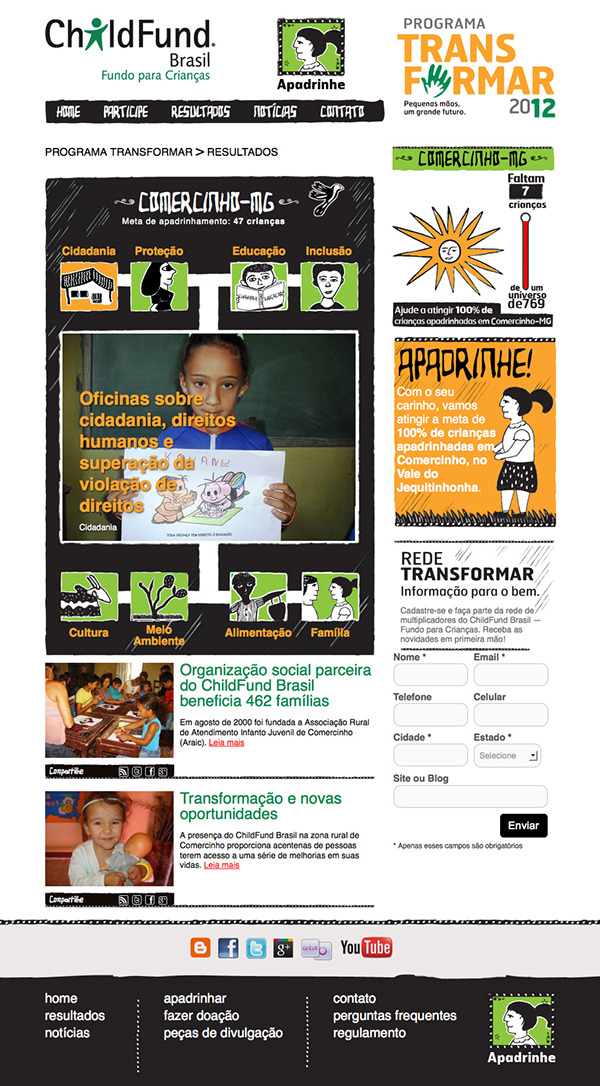 Programa Transformar - ChildFund Brasil