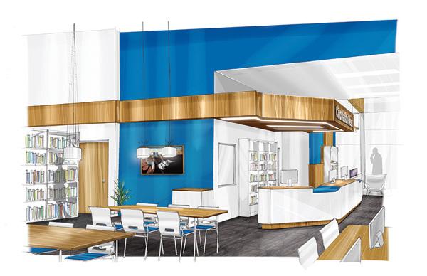 Interior Design Illustration Concepts On Wacom Gallery
