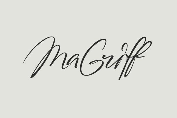 logo handwriting lettering font